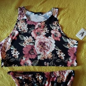 2 piece midi skirt set 2X